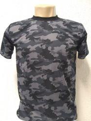Camiseta Dry fit camuflada BOPE 100% poliéster