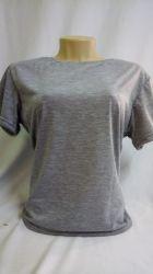 Camiseta baby look lisa cinza mescla 100% poliéster para sublimação