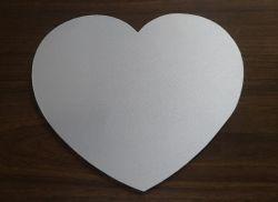 Mouse pad formato coração para sublimação