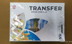 PCT COM 100 FOLHAS PAPEL TRANSFER LASER RIGIDO 100G