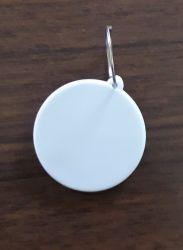 Chaveiro de polímero redondo para sublimação